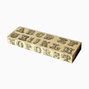 Alphabet Schachtel von Fornasetti, 1960er
