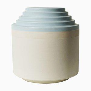 Vaso in ceramica di Ettore Sottsass per Bitossi Montelupo