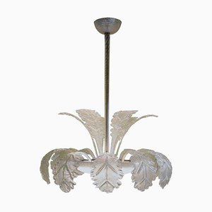 Chandelier by Barovier & Toso, 1960s