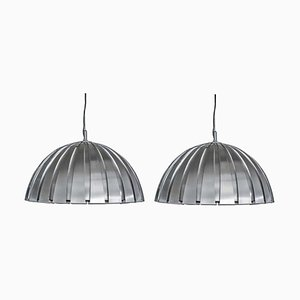 Steel Pendants by Elio, 1960s, Set of 2