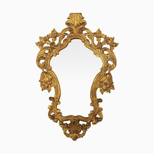 French Gilded Mirror, 1940s