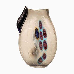 Vase aus geblasenem Glas von Afro Celotto