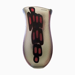 Blown Murano Vase by Afro Celotto