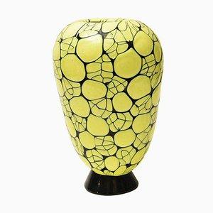 Vase en Verre Soufflé par Vittorio Ferro