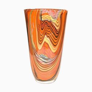 Italienische Studio Glasvase von Alberto Dona