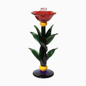 Art Glas Kerzenhalter von Silvano Signoretto, 1980er