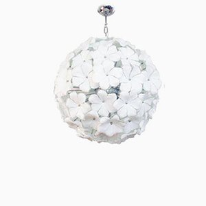 Flower Sputnik Ceiling Lamp, 1980s