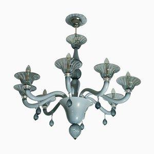 Venezianischer Kronleuchter mit 8 Leuchten, 1960er