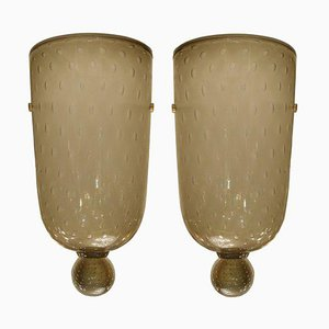 Sconces by Serguso, 1960s, Set of 2