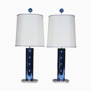 Lampes de Bureau par Roberto Rida, Set de 2