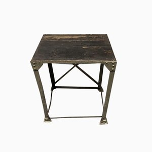 Industrial Riveted Worktable, 1900s