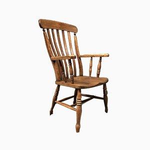 Englischer Windsor Stuhl mit Hoher Rückenlehne, 1900er