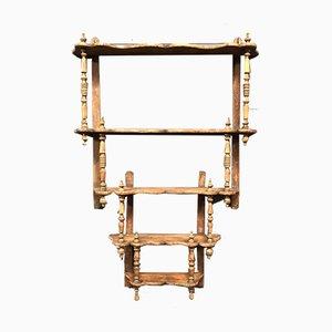 Verdrehtes Holz Regalsystem, 1800er