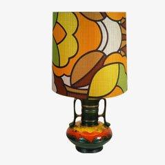 German Ceramic Table Lamp
