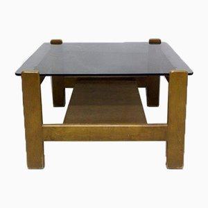 Tavolino da caffè quadrato, anni '80