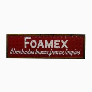 Foamex Werbeposter, 1950er