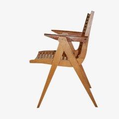 Vintage Stuhl aus Sperrholz Modell 'REX 120' von Niko Kralj für Stol Slovenija