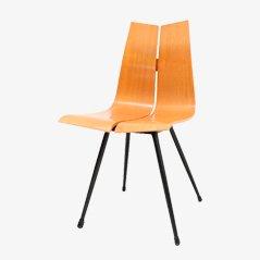Mid Century GA Chair aus Sperrholz von Hans Bellmann