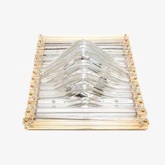Lampada da soffitto di Valdimar Harðarson for Venini, anni '60