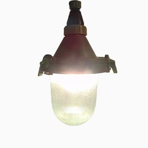 Vintage CCCP Industrial Ceiling Light, 1973