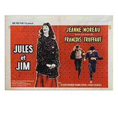 Jules et Jim' Belgian Movie Poster by Edicolor