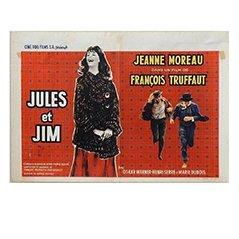 Poster de Film Jules et Jim' par Edicolor, Belgique