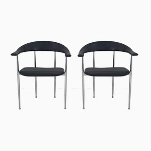 Vintage Dining Chairs by Vegni & Gualtierotti for Fasem, Set of 2