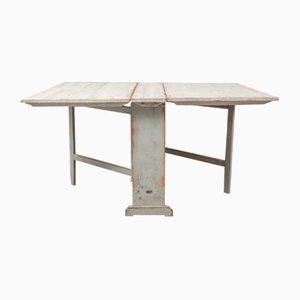 Antique Swedish Folding Table, 1850s