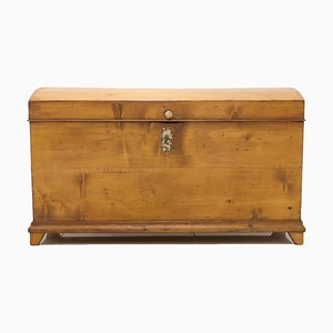 19th Century Biedermeier Polish Trunk