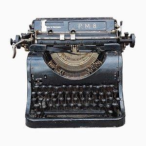Máquina de escribir de PM, años 20