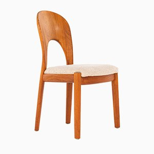 Danish Dining Chairs by Niels Koefoed for Hornslet Møbelfabrik, 1970s, Set of 4