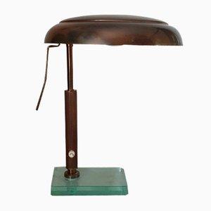 Lampe de Bureau Mid-Century par Pietro Chiesa pour Fontana Arte