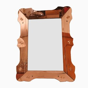 Vintage Murano Glass Mirror