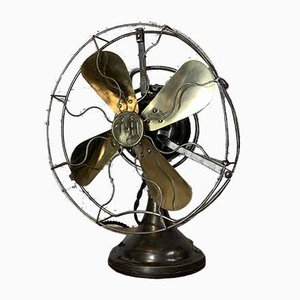 Vintage Industrial Fan from Thomson, 1940s