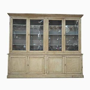 Large Antique Pinewood Cabinet, 1920s