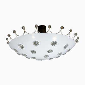 Austrian Ceiling Lamp by Emil Stejnar for Rupert Nikoll, 1950s