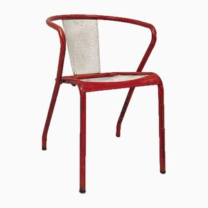 Model FT5 Chairs by Xavier Pauchard for Tolix, 1950s, Set of 4