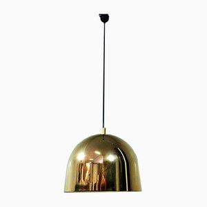 Deutsche Messing Deckenlampe von Staff, 1960er