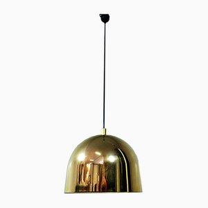 German Brass Ceiling Lamp from Staff, 1960s