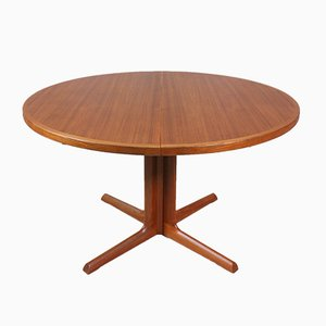 Danish Round Dining Table from Gudme Mobelfabrik, 1960s