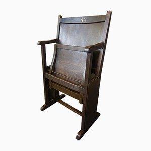 Art Deco Cinema Chair from Fibrocit, 1920s