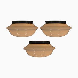 Deckenlampen, 1970er, 3er Set