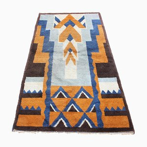 Small Art Deco Modernist Geometric Carpet, 1930s
