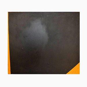 Concrete Composition Ölgemälde von Karl Brücher Henriksen, 1970er