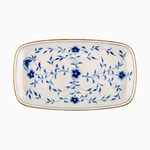 Porcelain Butterfly Dish with Golden Border from Bing & Grondahl