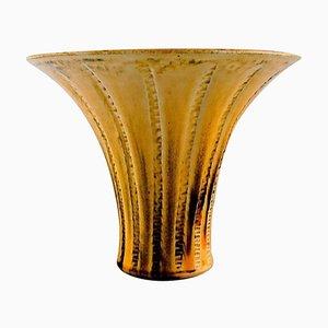 Vintage Danish Glazed Stoneware Vase by Svend Hammershøi for Kähler
