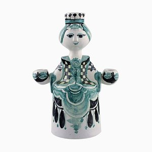 Ceramic Model L89 Angel Candleholder by Bjorn Wiinblad, 1979