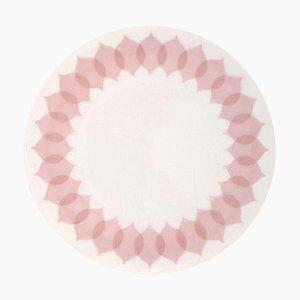 Bjørn Wiinblad for Rosenthal Lotus Porcelain Service Large Round Dish, 1980s