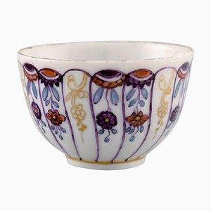 Antike Royal Copenhagen Tasse aus handbemaltem Porzellan