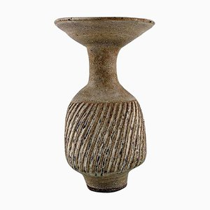 Austrian-Born British Potter Lucie Rie Large Vase, 1970s